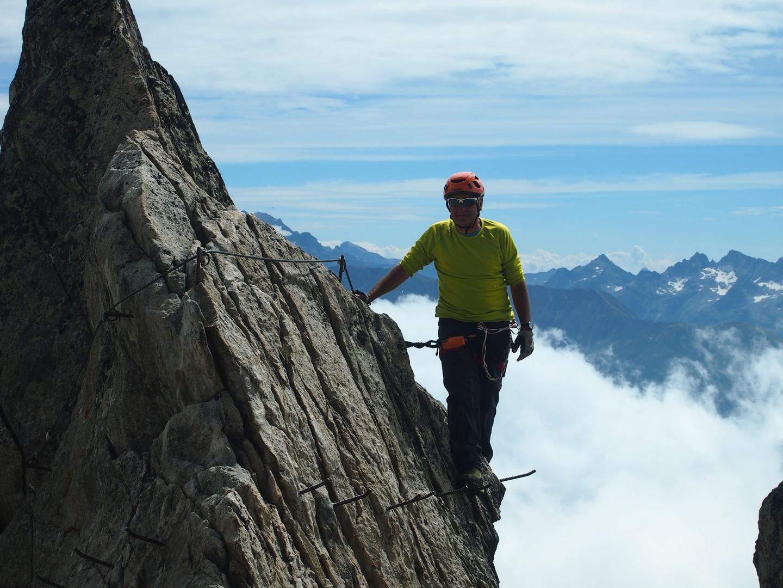Klettersteig Eggishorn : Berg len outdoor.de touren